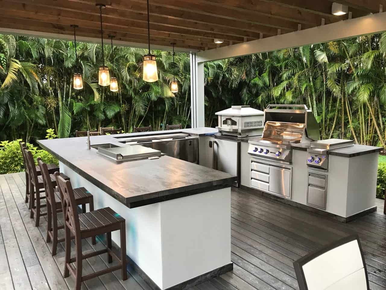 Modern Outdoor Kitchen by Luxapatio 1 min